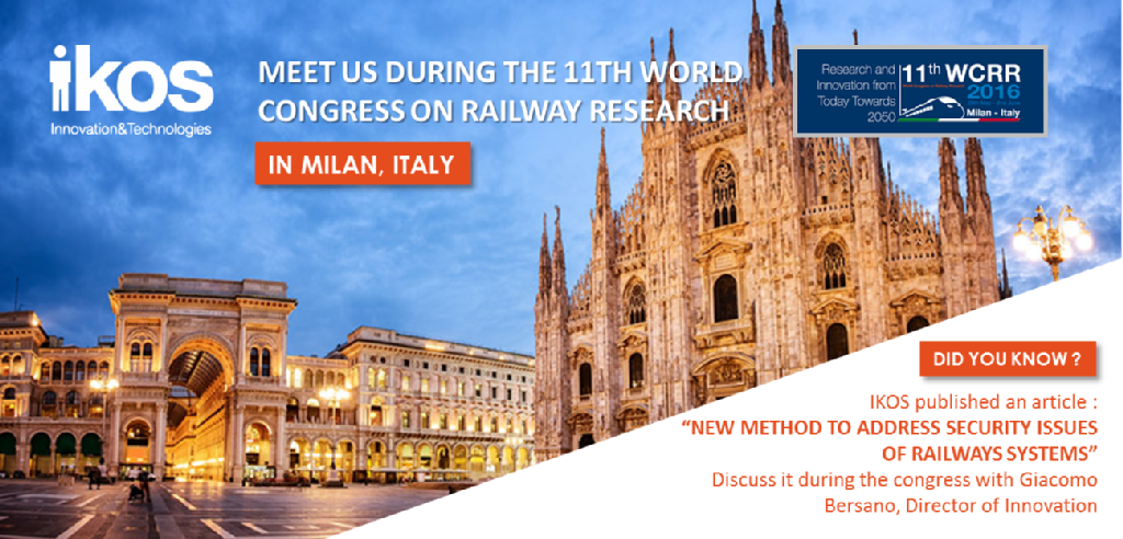 The 11th WCRR in Milan
