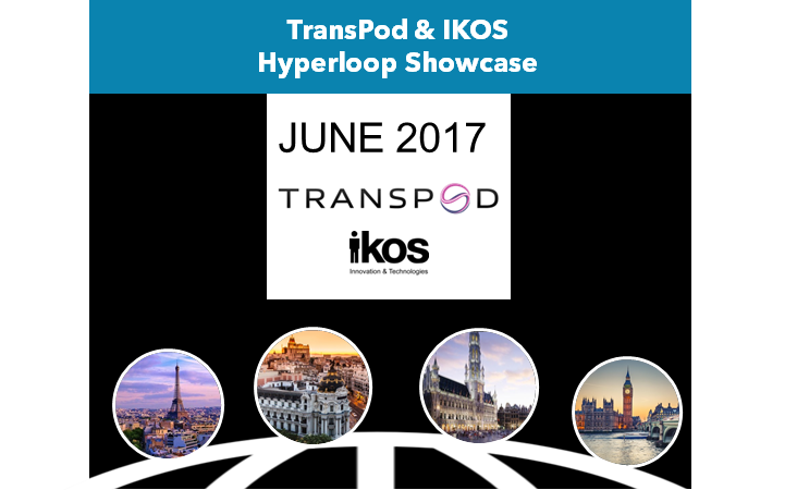 TransPod & IKOS Hyperloop Showcase