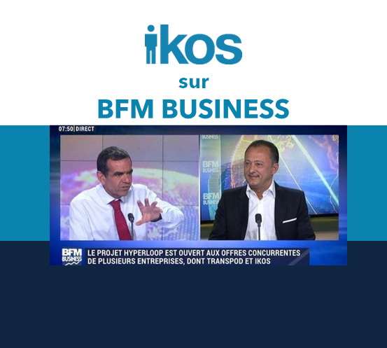 IKOS sur BFM Business