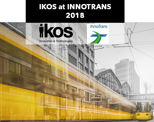 IKOS at INNOTRANS 2018