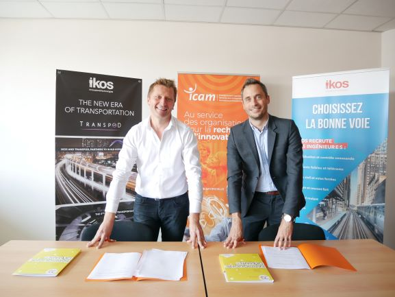 New partnership IKOS & ICAM engineering school